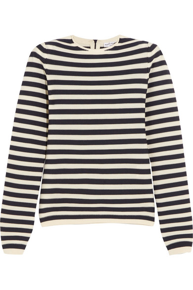Sonia Rykiel - Striped Knitted Sweater - Navy
