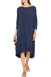 Raquel Allegra Tie-dyed jersey dress