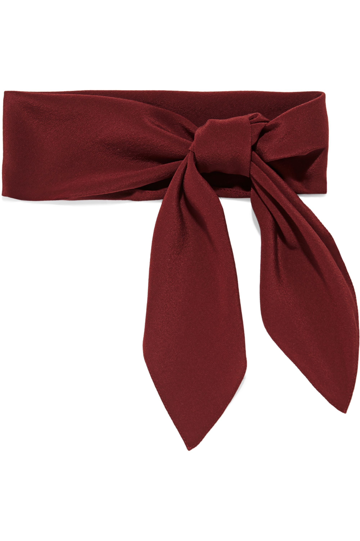 Chloé Silk crepe de chine scarf