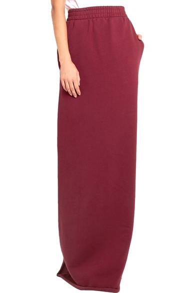 Vetements | Printed cotton-blend jersey maxi skirt | NET-A-PORTER.COM