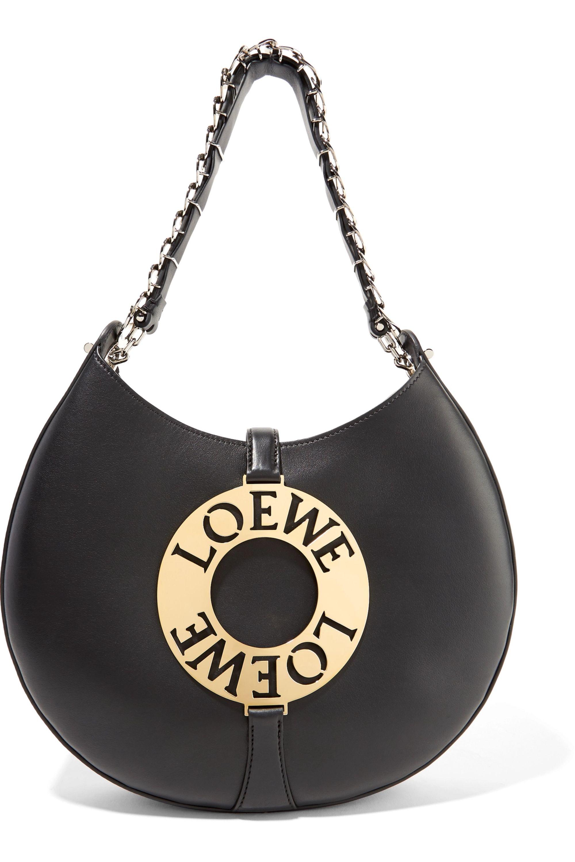 Loewe Joyce verzierte Schultertasche aus Leder
