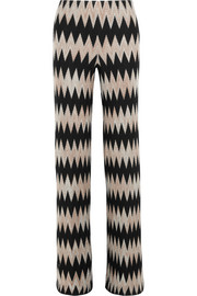 Missoni Wool-blend crochet-knit wide-leg pants