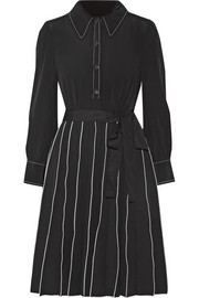 Marc Jacobs Pleated silk mini dress