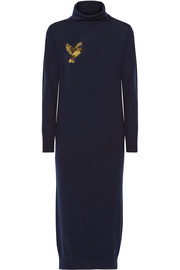 Markus Lupfer Nora sequin-embellished merino wool dress