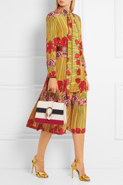 Gucci Floral-print silk crepe de chine dress