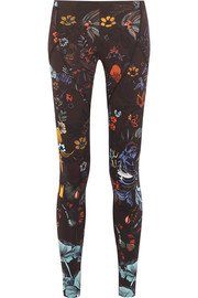Fendi Printed stretch-jersey leggings