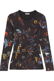 Fendi Printed stretch-jersey top
