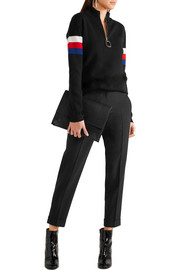 Carven Cropped piqué skinny pants