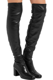 Saint Laurent BB stretch-leather over-the-knee boots