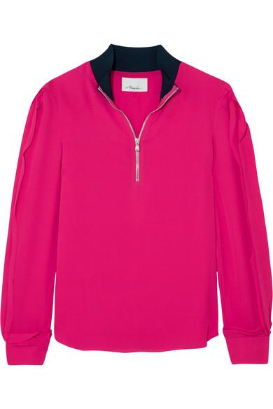 3.1 Phillip Lim - Silk Crepe De Chine Blouse - Pink