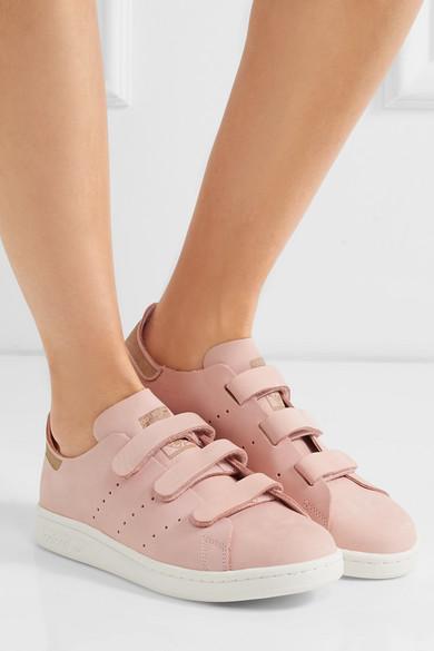 adidas stan smith velcro rose