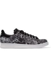 adidas Originals Stan Smith paisley-print shell sneakers