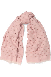 Valentino Fil coupé voile scarf