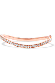Anita Ko Wave 18-karat rose gold diamond bracelet