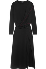 Atlein Stitched jersey midi dress