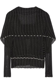 Roland Mouret Charp cape-effect knitted top