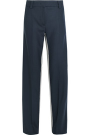 Cédric Charlier Striped twill wide-leg pants