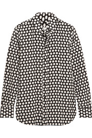 Saint Laurent Polka-dot silk shirt
