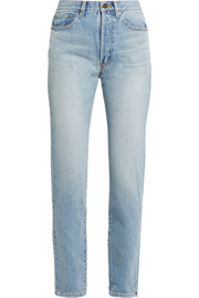 Saint Laurent High-rise straight-leg jeans