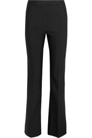 Clymene wool and silk-blend flared pants