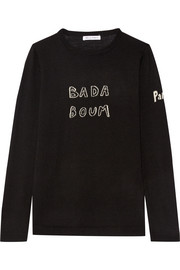 Bella Freud Bada Boum intarsia wool sweater