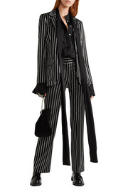 Paul & Joe Eorchestre pinstriped stretch-twill blazer