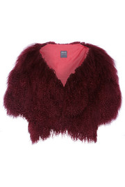 Anna Sui Shearling gilet