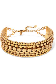 Erickson Beamon Awaken gold-plated choker