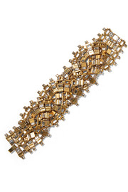 Erickson Beamon River Song gold-plated crystal bracelet