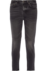 Happy cropped mid-rise straight-leg jeans