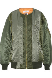 Shell bomber jacket