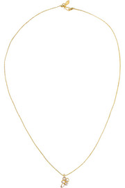 18-karat gold diamond necklace