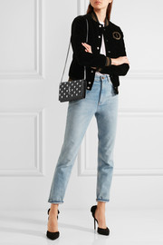Monogramme studded leather shoulder bag
