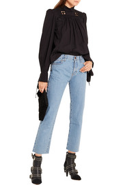 Current/Elliott The Vintage Straight high-rise jeans