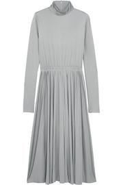Valentino Silk-jersey midi dress