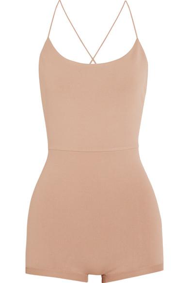 Valentino - Stretch-jersey Bodysuit - Blush
