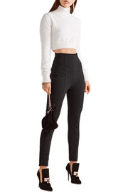 Balmain Stretch-crepe skinny pants