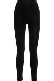 Balmain Velvet leggings