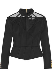 Balmain Cutout wool top