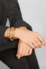 T Wire Narrow 18-karat gold bracelet
