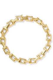 Tiffany & Co T Chain 18-karat gold bracelet