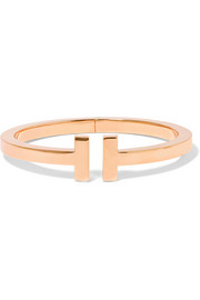 T Square 18-karat rose gold bracelet