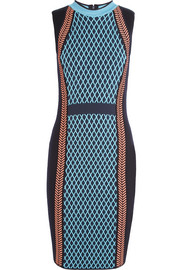Versace Wool-blend dress