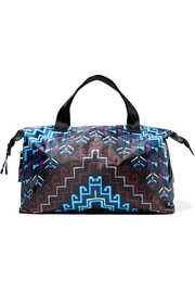 Printed shell tote