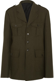 Haider Ackermann Officer wool-felt jacket