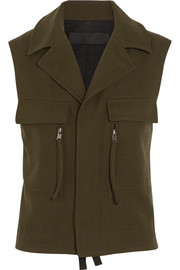Haider Ackermann Wool-twill vest
