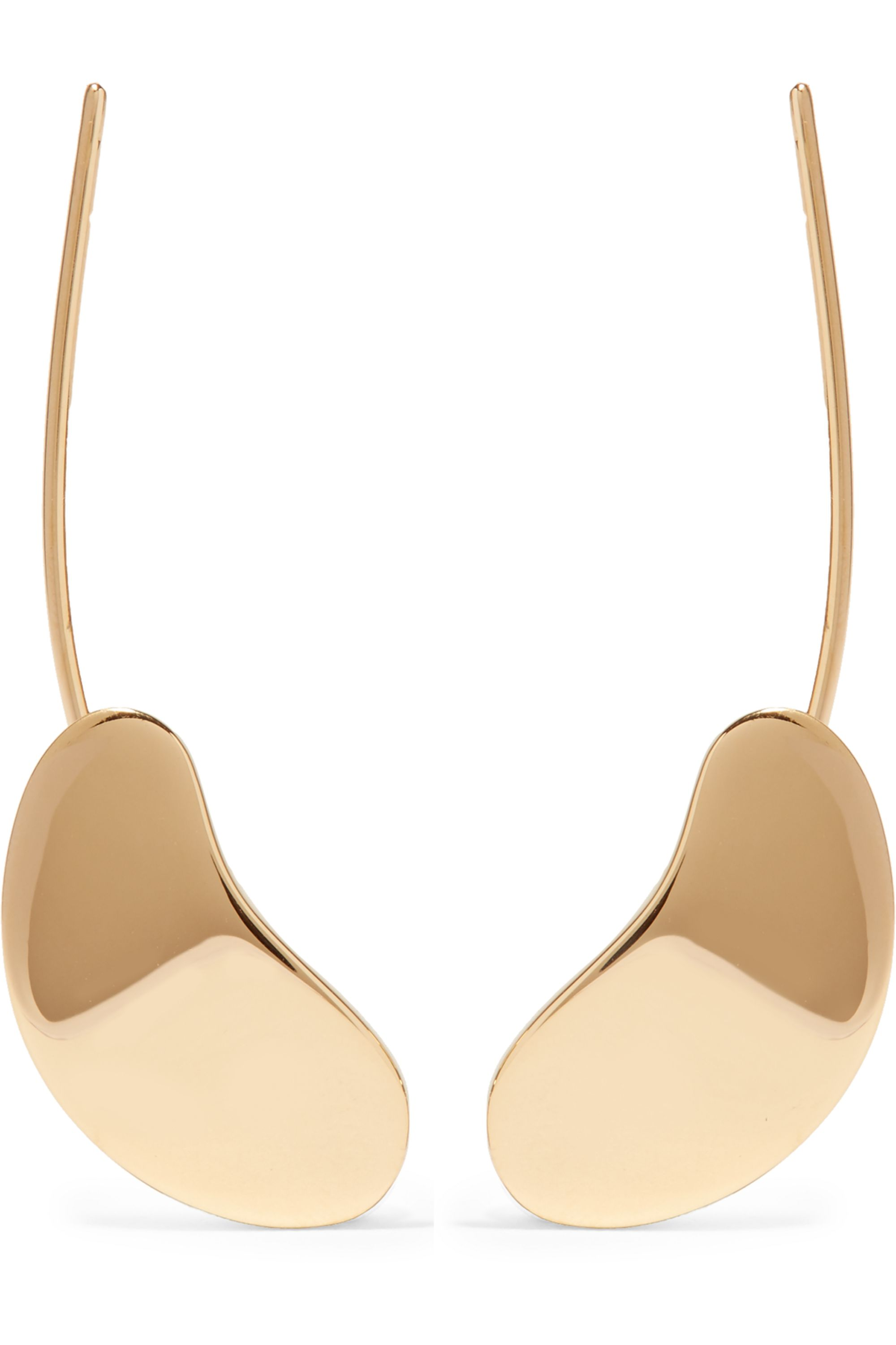 Charlotte Chesnais Nues gold-dipped earrings