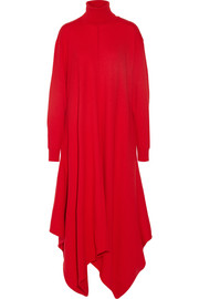 Stella McCartney Oversized felted wool turtleneck dress