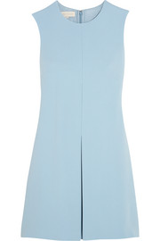 Stella McCartney Daisy pleated crepe mini dress