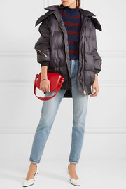 Stella McCartney Mietta hooded quilted shell jacket
